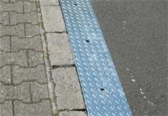 Hauteur du trottoir 100 mm
