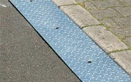 Hauteur du trottoir 65 mm