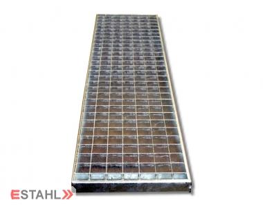 Caillebotis standard pour garages 240 x 1240 mm