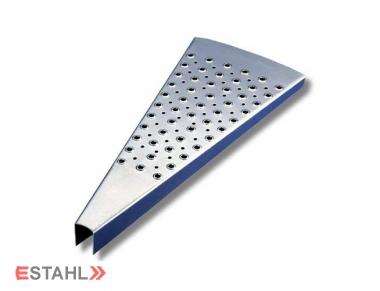 Marches pour escalier hélicoïdal, Rayon 1100 mm