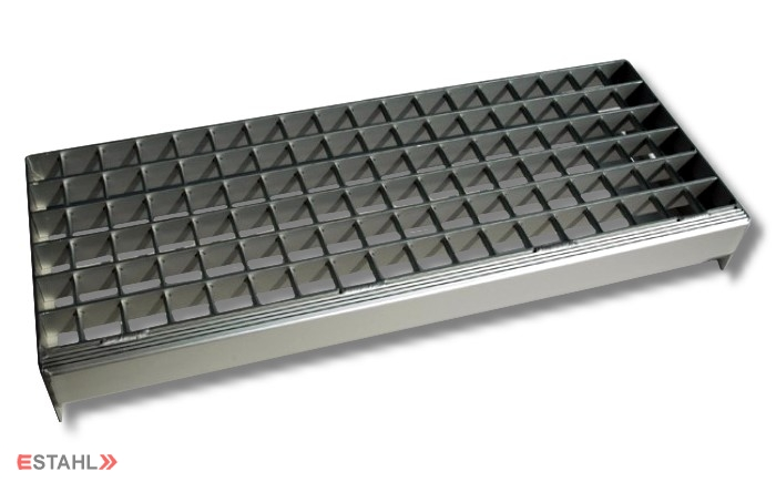 E stahl boutique de vente en ligne pour marche d escalier en caillebotis en a - Marche d escalier en aluminium ...