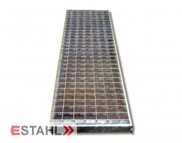 Caillebotis standard pour garages 240 x 990 mm