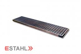 Caillebotis standard pour garages 390 x 390 mm