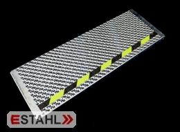 Marche de sécurité fluorescente  longueur 800 mm