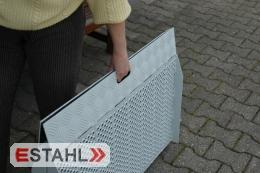 Rampe pliante en aluminium pour fauteuil roulant