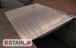 Pont de chargement en aluminium, longueur 1000 mm