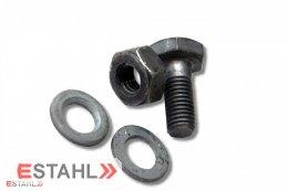 Vis métaux galvanisés à chaud M12 x 30