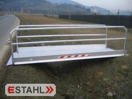 Passerelle - Gangway, longueur 1260 mm, largeur utile 1000 mm