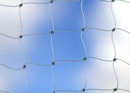 Filet de protection transparent, UV résistant, par m2,  en coupe